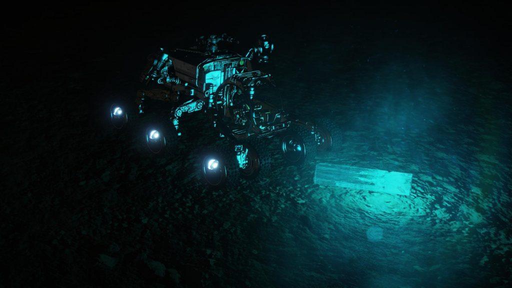 CMDR Liandrei investigates a Relic